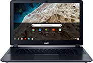"""2018 Acer 15.6"""" HD WLED Chromebook with 3x Faster WiFi Laptop Computer, Intel Celeron Core N3060 up to 2."""