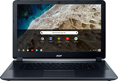 """Acer 15.6"""" HD WLED Chromebook with 3X Faster WiFi Laptop Computer, Intel Celeron Core N3060 up to 2.48GHz, 4GB RAM, 16GB eMMC, 802.11ac WiFi, Bluetooth 4.2, USB 3.0, HDMI, Chrome OS"""
