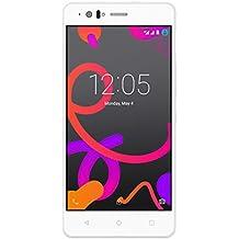 BQ Aquaris M5 FHD - Smartphone de 5 pulgadas (4G, LTE WiFi 802.11 b/g/n, Bluetooth 4.0 NFC HCE, GPS, Glonass, 3 GB de RAM, memoria interna de 16 GB), blanco - (Reacondicionado Certificado por BQ)