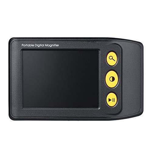 Handheld Electronic Vision Aid, 3,5-Zoll-High-Definition-Display 2x-25x Lupe, geeignet für Menschen mit Sehbehinderung. -