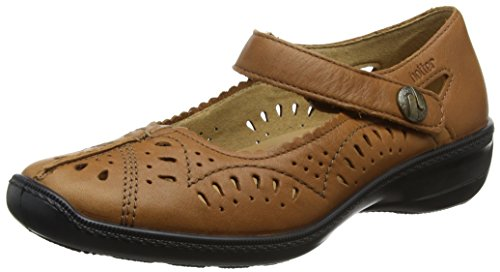 Hotter Chile, Damen Mary Jane Halbschuhe, Braun (Tan), 37 EU (4 UK) (Jane Tan Mary Leder)