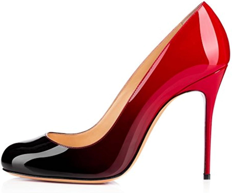 2eb1ce432ee5 Kolnoo Women s Women s Women s Round Toe Court Shoes High Heel Party Dress  Pumps B01MG04YXZ Parent 6c8e97