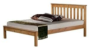 Birlea Denver Bed - Pine, Double