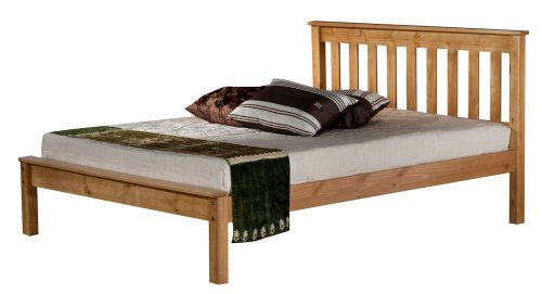 Birlea Denver Bed - Pine, Double