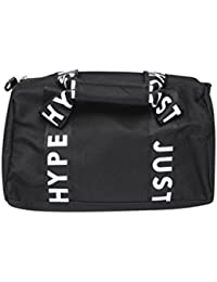 Hype Women's Black/White Taped Bowling Bag - New Spring/Summer 2018 Styles Official Stockist - Taped Black/White
