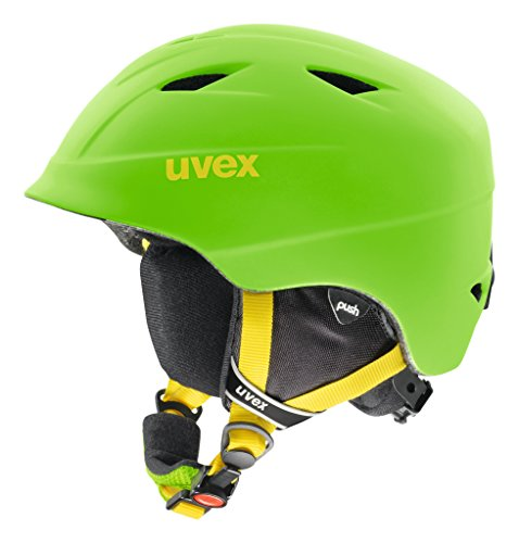 UVEX Kinder Skihelm Airwing 2 pro, Chilired Mat, 54-58 cm, S5661320305
