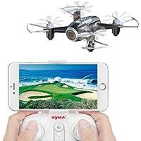 RC Drone Mini Drohne FPV Drohne mit Kamera Live Übertragung FPV Ferngesteuerter Quadrocopter Eine Taste Start Landung Höhehalte Funktion kopflosen Modus für Kinder und Anfänger draußen spielen