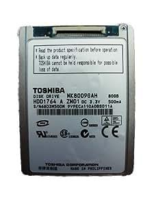 """Toshiba MK8009GAH Disque Dur ZIF HDD 1,8"""" 80 Go"""