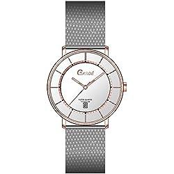 Garde' Ruhla Uhren aus Ruhla Titan rose' Damenuhr Elegance 15297M Slim Design