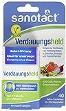 sanotact Verdauungsheld Mini-Tabletten 600 GalU Alpha-Galactosidase/Klickspender, 40 Stück