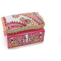Preisvergleich für HAB & GUT -ik002- Aufbewahrungsbox/Sitzbank INDIEN STYLE,Größe: 57x39,5x13,5 cm, inkl. Sitzkissen, IDEAL FÜR KINDER