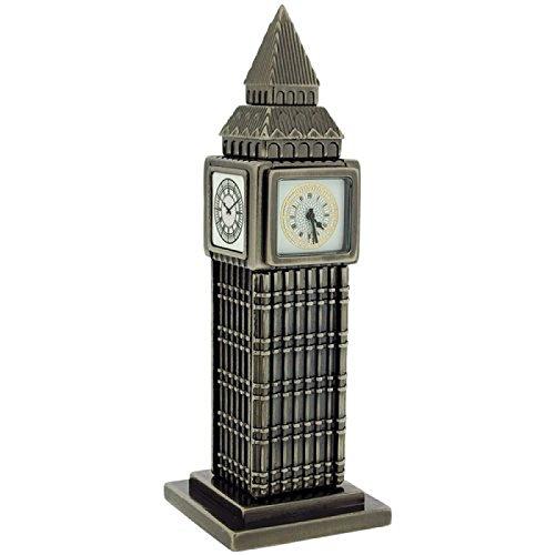 Miniatura Big Ben-movimento al quarzo orologio desktop collezionisti 0463