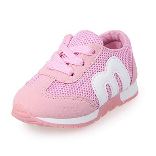XHCHE Toddler Boy Shoes Kids Mesh Sneakers Flaches Baby AtmungsAktive Sport Schuhe MäDchen Laufen Wanderschuhe