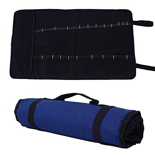 Kicode Mehrzweck-Pocket Rolling Tool Bag Heavy Duty Werkzeugträger Zum Gartengeräte Elektriker. Tischler. Klempner und M - Tool Rolling Bag