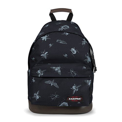 Eastpak WYOMING Zainetto per bambini, 40 cm, 24 liters, Nero (Bugged Black)