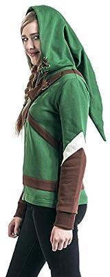 The Legend of Zelda Cosplay Zip-Hoodie Girls hooded zip multicolour