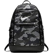Nike BRSLA XL - Mochila universal, Gris Dark Grey/Black/White