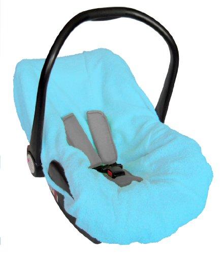 Bambisol Housse Eponge pour Siège Auto Groupe 0/0+ Turquoise
