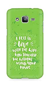 Amez I fell in Love with You Back Cover For Samsung Galaxy J2