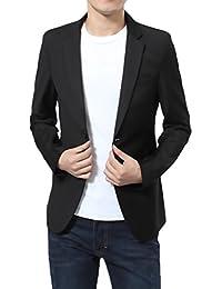 Blazer Hombre Elegantes Casual Slim Fit Cuello Solapa Chaquetas Negocios Office Wear Chaqueta Americana Hombre