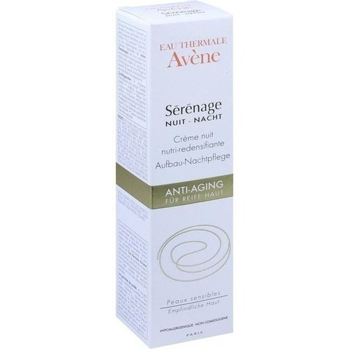 Avène Sérénage Aufbau-Nachtpflege Creme, 40 ml