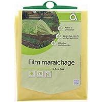 Film de maraichage - 2.50 x 10 m - Jaune