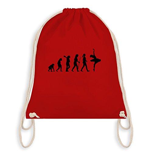 Evolution - Ballett Evolution - Turnbeutel I Gym Bag Rot