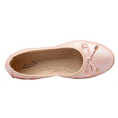 Chaussures plates, chaussures de sport maternité Rose