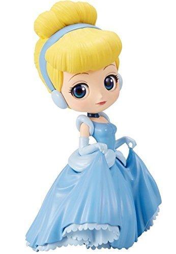 Banpresto qposket Disney Characters Cinderella Cenicienta Figura, 4983164371932, 14cm