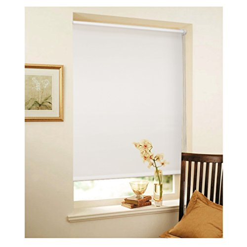 auralum-white-thermo-roller-blind-without-drilling-coating-for-window-door-pull-beads-with-terminal-