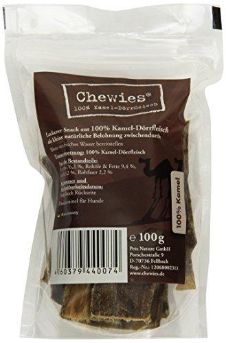 Chewies Kamel-Dörrfleisch, 1er Pack (1 x 0.1 kg)