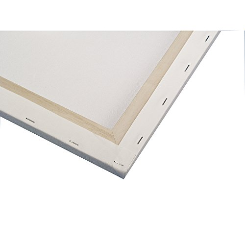 RAYHER 6236700 Keilrahmen, 100% Baumwolle, 40 x 60 x 1,7 cm