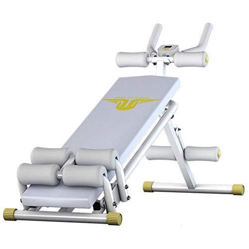Bauchtrainer Maschine Sit Up Bench Folding dominal Crunch, Maschinen dominal Trainer Startseite FitnesIndoor Trainer Übungs-Trainings