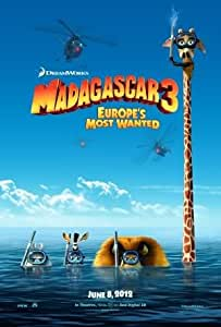 MADAGASCAR 3 EUROPE'S MOST WANTED – Imported Movie Wall Poster Print – 30CM X 43CM Brand New