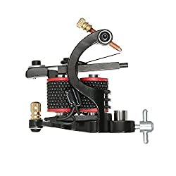 Anself Professional Tattoo Gun Tattoo Motor Shader Tattoo Liner Machine Body Permanent Art Tool Black