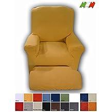 Relax funda sillón eléctrico universal - NERO - NEGRO
