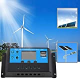 New 10A 12V / 24V TX-10BL Solar-Laderegler 2 USB-Ports LED-Anzeige
