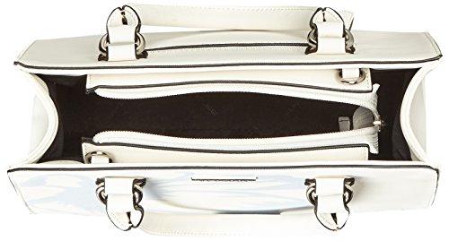 Bulaggi - Faye Handbag, Borse a secchiello Donna Bianco (Weiß)