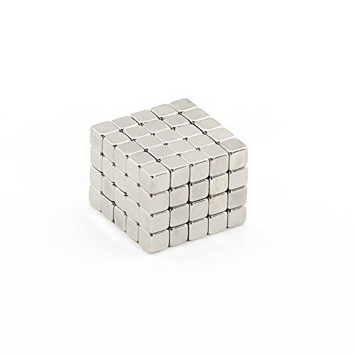 Oblique-Unique® 100 Neodym-Super-Magnete Würfel 5 x 5 x 5 mm -