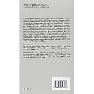 Teoria e storia della traduzione