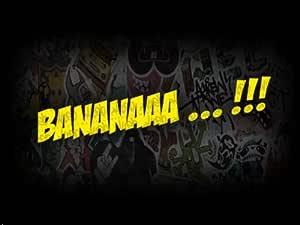 2x Banana Minion Jdm Farbwahl Fun 16 X 2 5 Cm Sticker Ken Block Aufkleber Energy Ungeheuer Kralle Claw Auto Tuning Styling Motorrad Auto