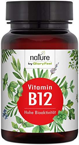 Vitamin B12 1000µg 200 Tabletten - Der VERGLEICHSSIEGER 2019* - Beide Bioaktiven B12 Formen Adenosyl- & Methylcobalamin + Depot + 400µg Folsäure als 5-MTHF - Laborgeprüfte Herstellung in Deutschland -