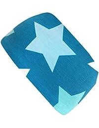 Wollhuhn - Cinta de pelo - para niño Azul Big Stars Petrol Talla única