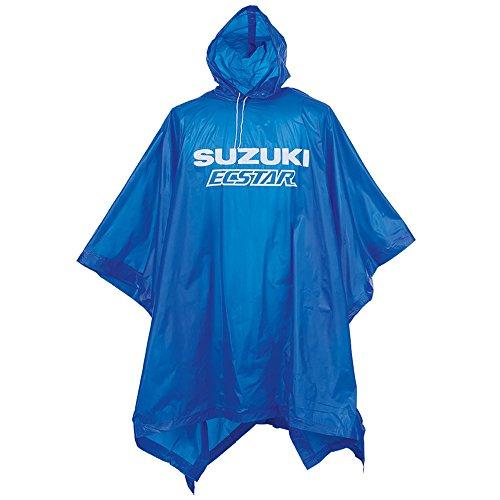 Preisvergleich Produktbild Suzuki Poncho Regenmantel blau MotoGP Ecstar !