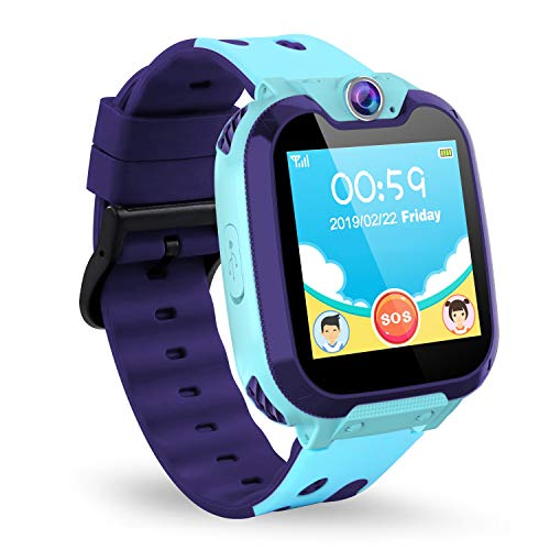 Jaybest Smartwatch Niños - Inteligente Relojes Phone con cámara SOS Ranura para...
