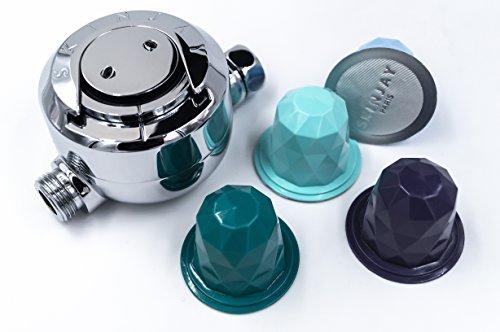 Skinjay - Dusche ätherische Öle Diffuser - 172 * 130 * 90mm - 747g - Ätherisches Öl-produkte-kits