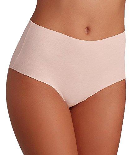 Hanro Damen Invisible Cotton Maxi Slip Powder