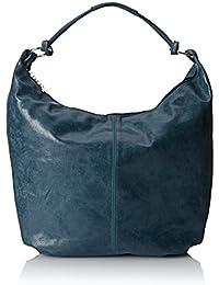 CTM Frauen Schultertasche, Tasche Leder, 45x35x4cm, echtes Leder 100% Made in Italy