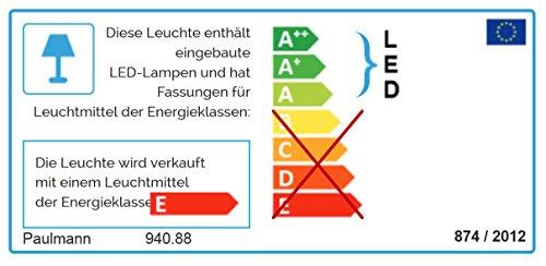 Paulmann 940.88 Seilsystem, Integriert, silber