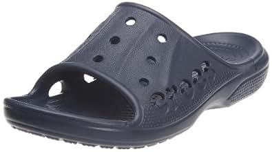 crocs Baya Summer Slide 12000-410-250 Unisex-Erwachsene Dusch- & Badeschuhe, Blau (Navy), EU 42/43